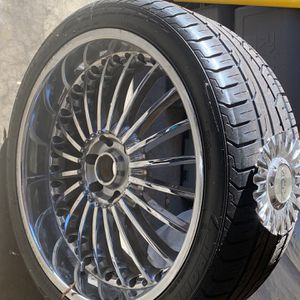 """24""""Moz Wheels & Brand New Tires for Sale in Plainfield, IL"""