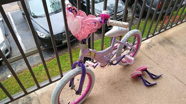 """Princess 16"""" bike"""