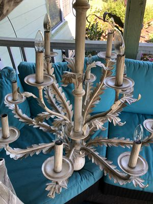 Chandelier 2 available - 12 lights with shades for Sale in Palm City, FL