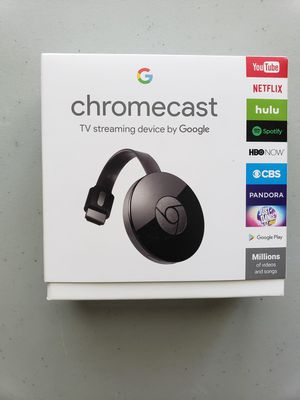 Google Chromecast TV streaming device for Sale in College Park, GA