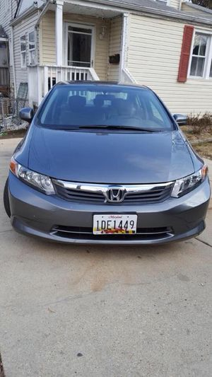Honda Civic 2012 title rebuild for Sale in Silver Spring, MD