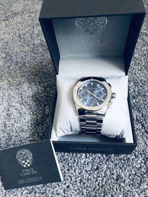 Authentic Men's Vince Camuto Silver watch (New with Tags) for Sale in Surprise, AZ
