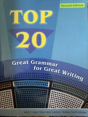 Top 20 Great Grammar for Great Writing for Sale in Howell Township, NJ