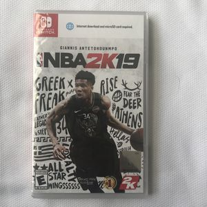 NBA 2K19 for Nintendo Switch | Brand New for Sale in Westampton, NJ
