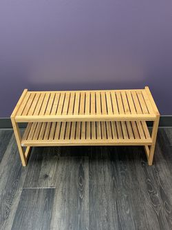 Bamboo Shoe Rack for Sale in Portland,  OR