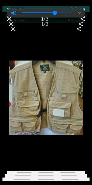 fishing vest 2XL (New) for Sale in Grand Terrace, CA