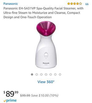 Enjoy Spa at home Panasonic Facial steamer for Sale in Las Vegas, NV