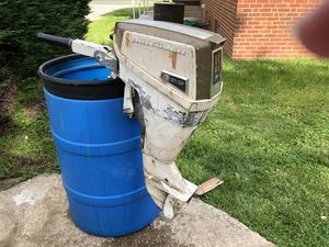 Outboard motor with manual for Sale in Owings Mills, MD