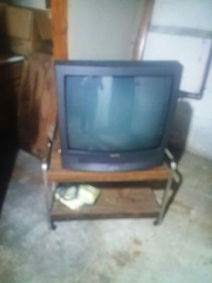 Tv with remote, and or stand for Sale in Cleveland, OH
