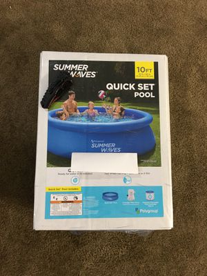 Brand New Summer Waves 10ft Quick Set Swimming Pool for Sale in Pittsburgh, PA