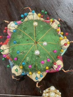 Antique Chinese Sewing Pin Cushion for Sale in Oklahoma City,  OK