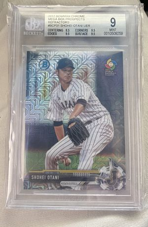 Shohei Ohtani rookie card for Sale in Artesia, CA