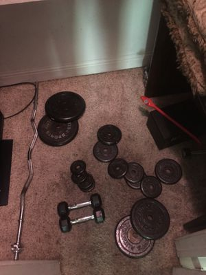 Weight set for Sale in Grand Prairie, TX