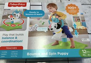 Fisher Price Bounce and Spin Puppy for Sale in Los Angeles, CA