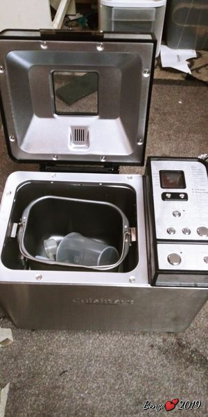 Cuisinart convection bread maker Basically new for Sale in Phoenix, AZ