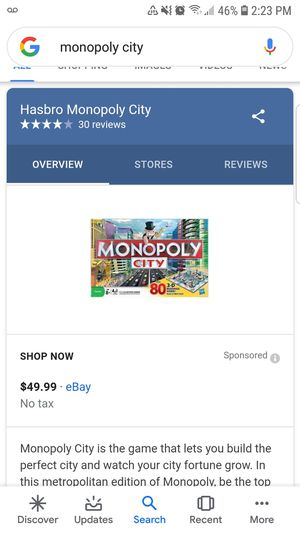 MONOPOLY CITY for Sale in San Leandro, CA