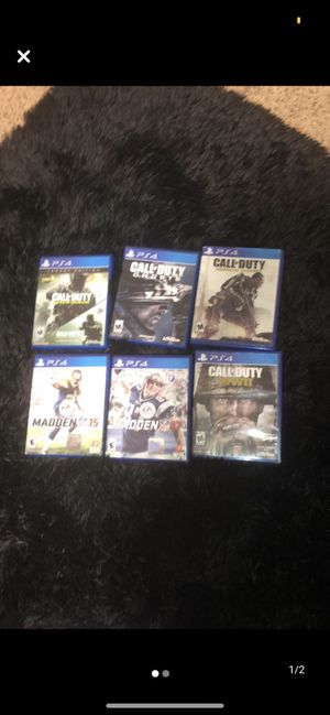 playstation 4 games for Sale in Wildomar, CA