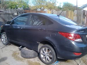 2012 Hyundai Elantra selling parts off of vehicle reviews on each door all four doors have power windows back glass for back window parts for Sale in San Antonio, TX