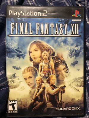 Final fantasy 12 and 13 for ps2 and PS3 video games for Sale in San Francisco, CA