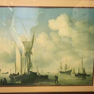 """Willem Van De Velde """"Boats Offshore"""" for Sale in East Greenwich, RI"""