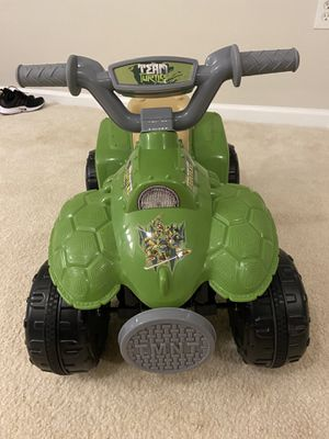 TMNT electric atv for toddler for Sale in Fort Washington, MD