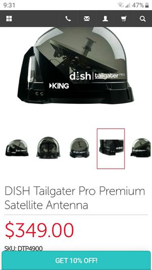 Dish Network King Tailgater Satellite Dish for Sale in Loxahatchee, FL