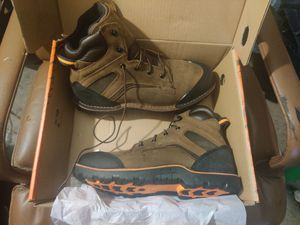 Size 12 men's Brand new Red Wing steel toe slip resistant work boots / shoes for Sale in Farmers Branch, TX
