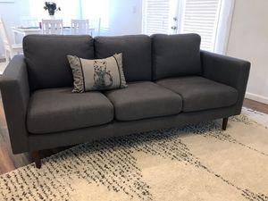 NEW Rivet Revolve Modern Upholstered Sofa for Sale in Glendale, AZ