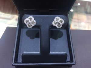Diamond Earrings in 14kt White Gold for Sale in Annandale, VA