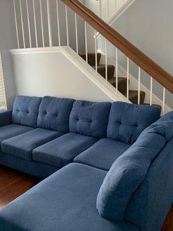 Wyfair Blue Sectional Sofa for Sale in Chula Vista,  CA