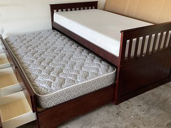 Twin Bed With Trundle for Sale in Austin,  TX