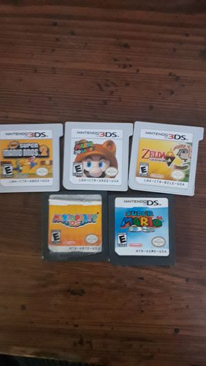 Nintendo 3DS and DS games for Sale in Denver, CO
