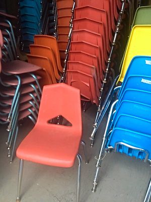 Virco Student Chairs Coral for Sale in Glendale, AZ