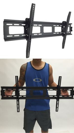 New in box universal 40 to 85 inch tilt tilting tv television flat wall mount bracket 150lbs capacity soporte de tv for Sale in West Covina, CA