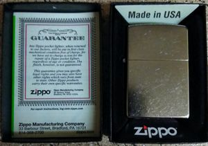ZiPPO Street Chrome Series Limited Edition Windproof Lighter *NEW* for Sale in Albuquerque, NM