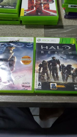 Halo xbox 360 games for Sale in Homestead, FL
