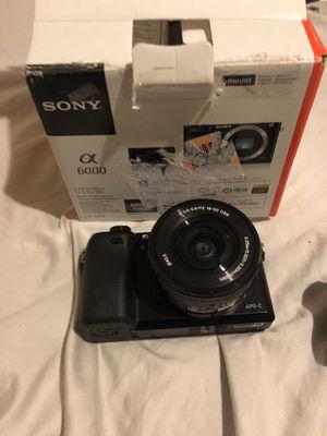 Sony a6000 Camera for Sale in Costa Mesa, CA