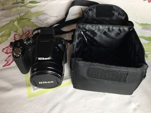 Nikon Coolpix P90 12.1MP Digital Camera with 24x Wide Angle Optical Vi for Sale in Seattle, WA