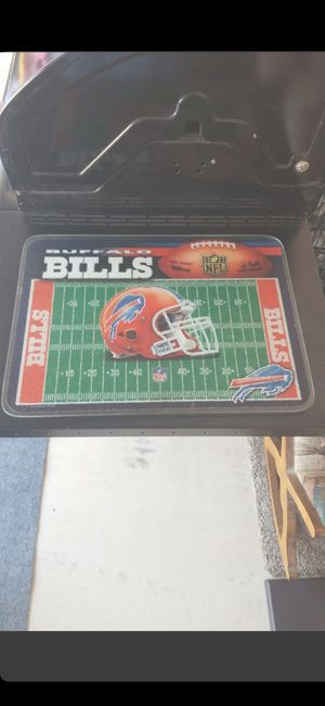 Vintage! 15 x 10 BUFFALO BILLS CHEESE/ CUTTING BOARD for Sale in Delray Beach, FL