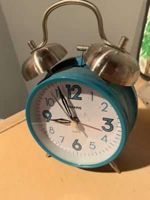 Blue alarm clock for Sale in St. Louis, MO