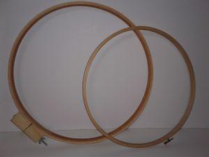 Darice Wood Craft Hoops for Sale in Manteca, CA