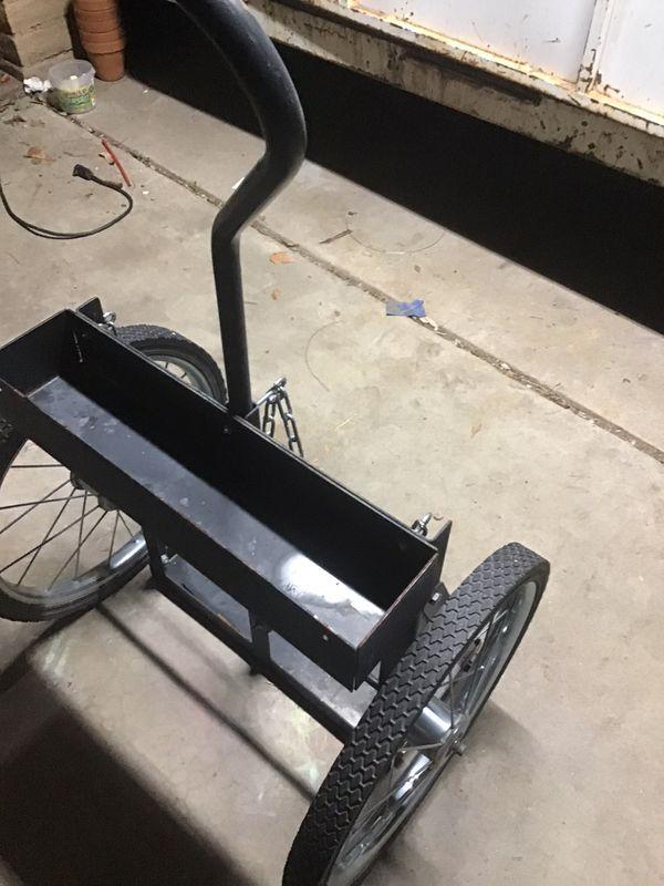 Welding cart for tanks