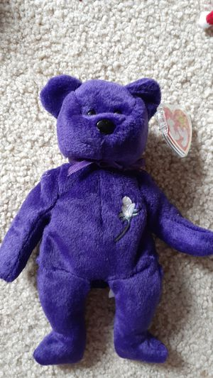 Very very rare first edition Princess Diane TY beanie baby for Sale in Kent, WA