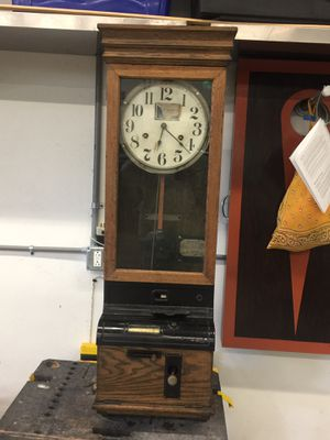 Antique time clock for Sale in Palm City, FL