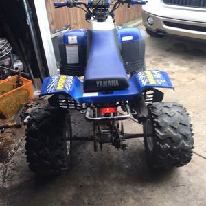 2004 350 Warrior Brand New Clutch Runs And Rides Needs Rear Brake Cable But Front Brake Work Like A Champ Asking 2200 Or Best Offer Very Fun Bike for Sale in Cleveland, OH