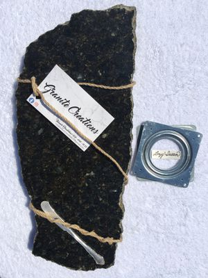Ubatuba - Raw Edge Granite - 18x9 for Sale in Pataskala, OH
