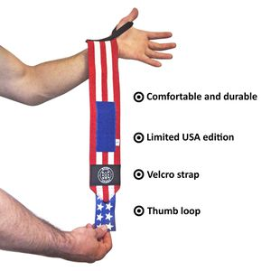USA Weightlifting/Crossfit Wrist Wraps by SweatGear for Sale in San Diego, CA