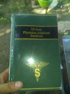 U.s army physician assistant handbook for Sale in San Antonio, TX