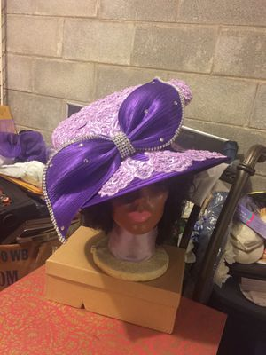 """""""Show Stopper"""" By Charming. Beautiful Purple and Lilac Silk and Lace. Year Around Hat. for Sale in Nashville, TN"""