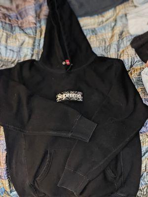 Black supreme box logo for Sale in Capitola, CA